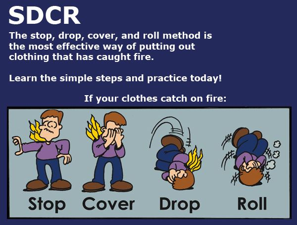 Stop, Drop Cover & Roll